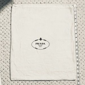 "PRADA MILANO Tote XL Purse Dust Bag LARGE! 20"" 16"""